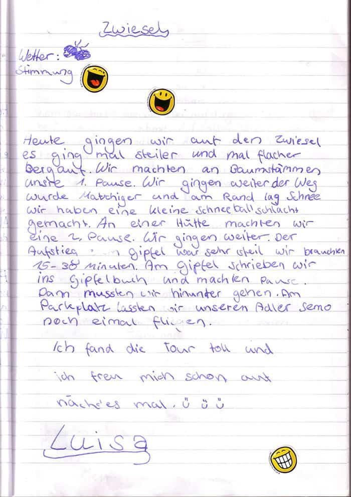 Bucheintrag_Zwiesel