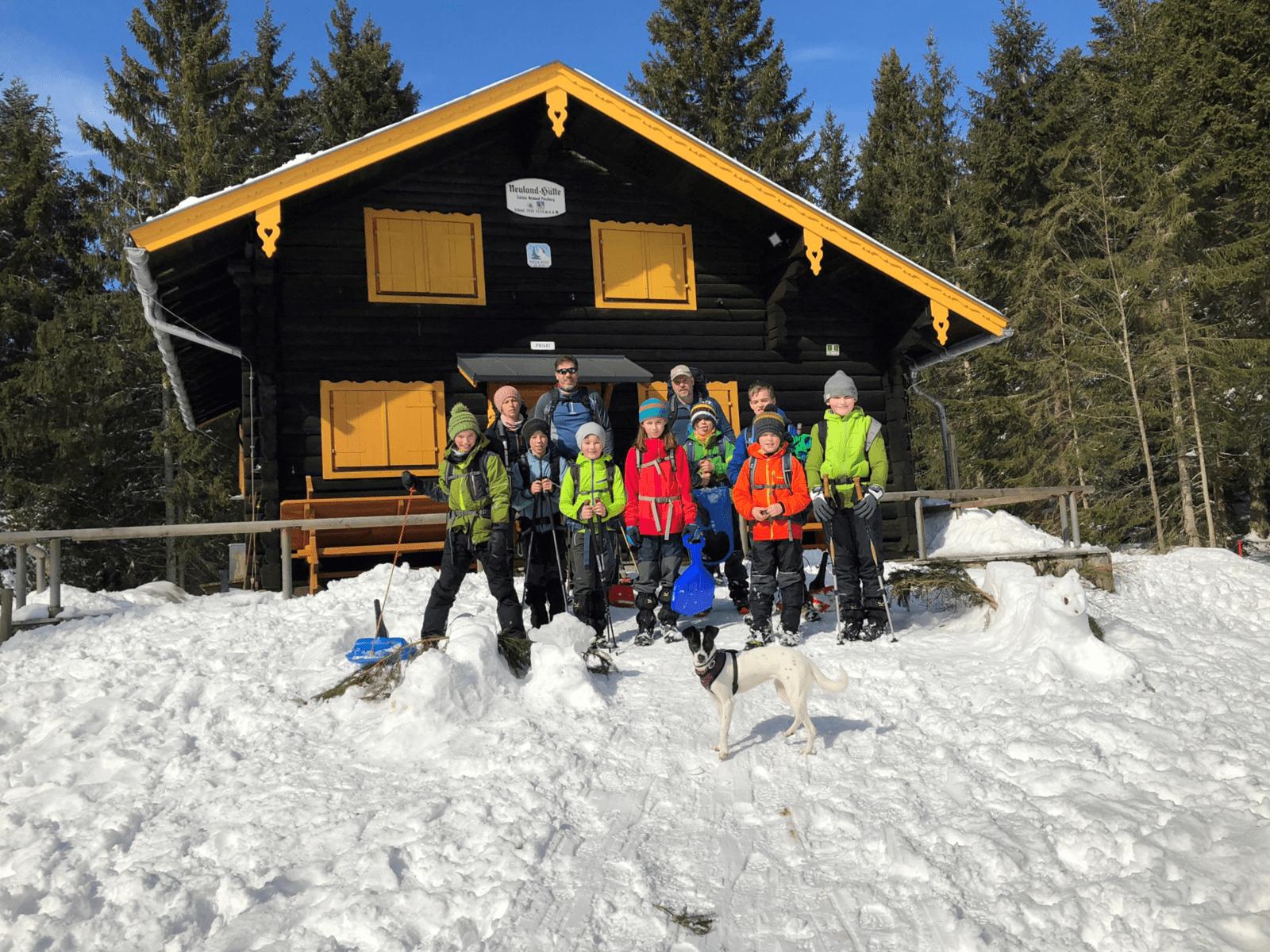 Bergdrachen auf der Neulandhütte